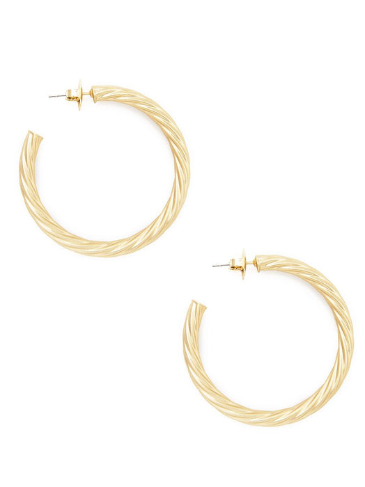 Caroline Hoop Earrings-Earring-Southern Bale