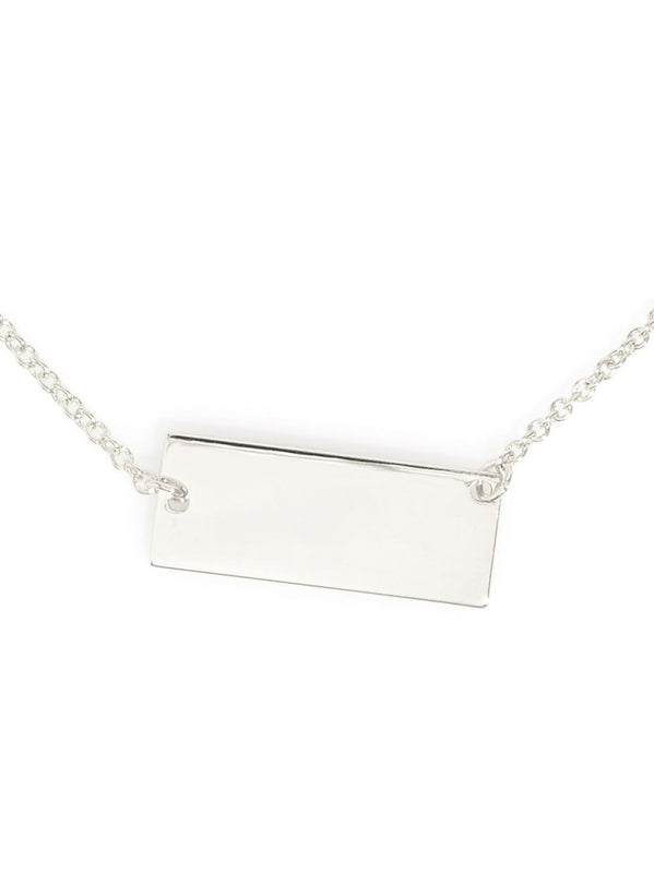 Tag Me Im It Necklace | Silver-Necklace-Southern Bale