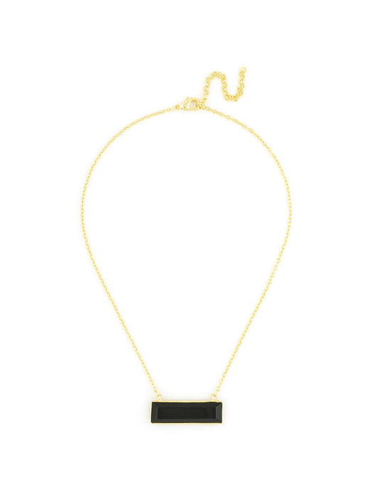 Marbled Pendant Gold Chain Necklace-Necklace-Southern Bale