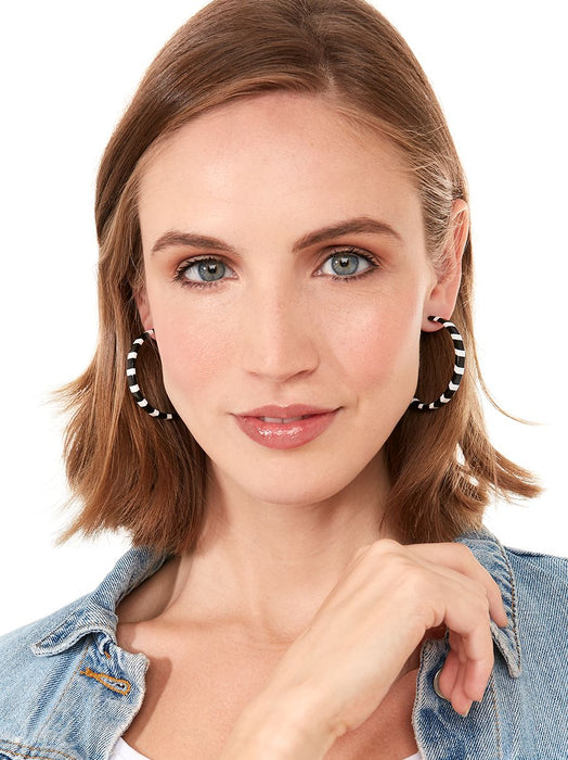 It Dont Matter Hoop Earrings-Earring-Southern Bale