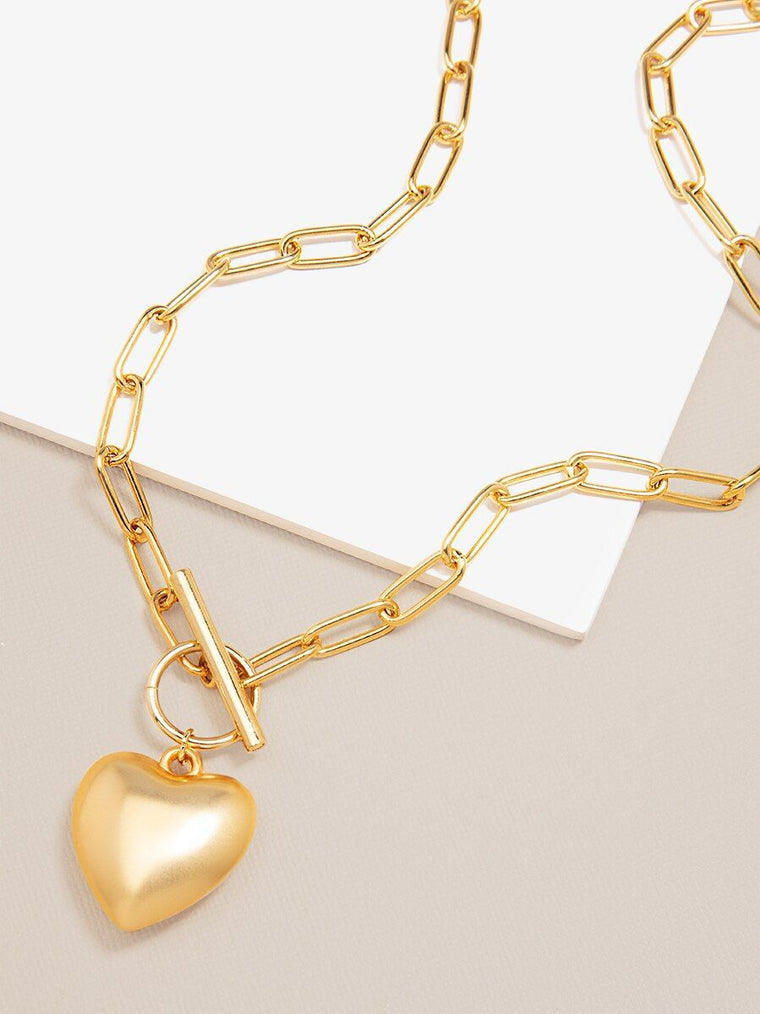 Amor Link Necklace