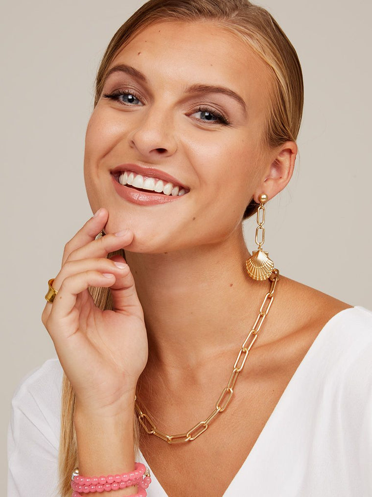 The Skinni-Mini Carrie Necklace | 18K Gold-Necklace-Southern Bale
