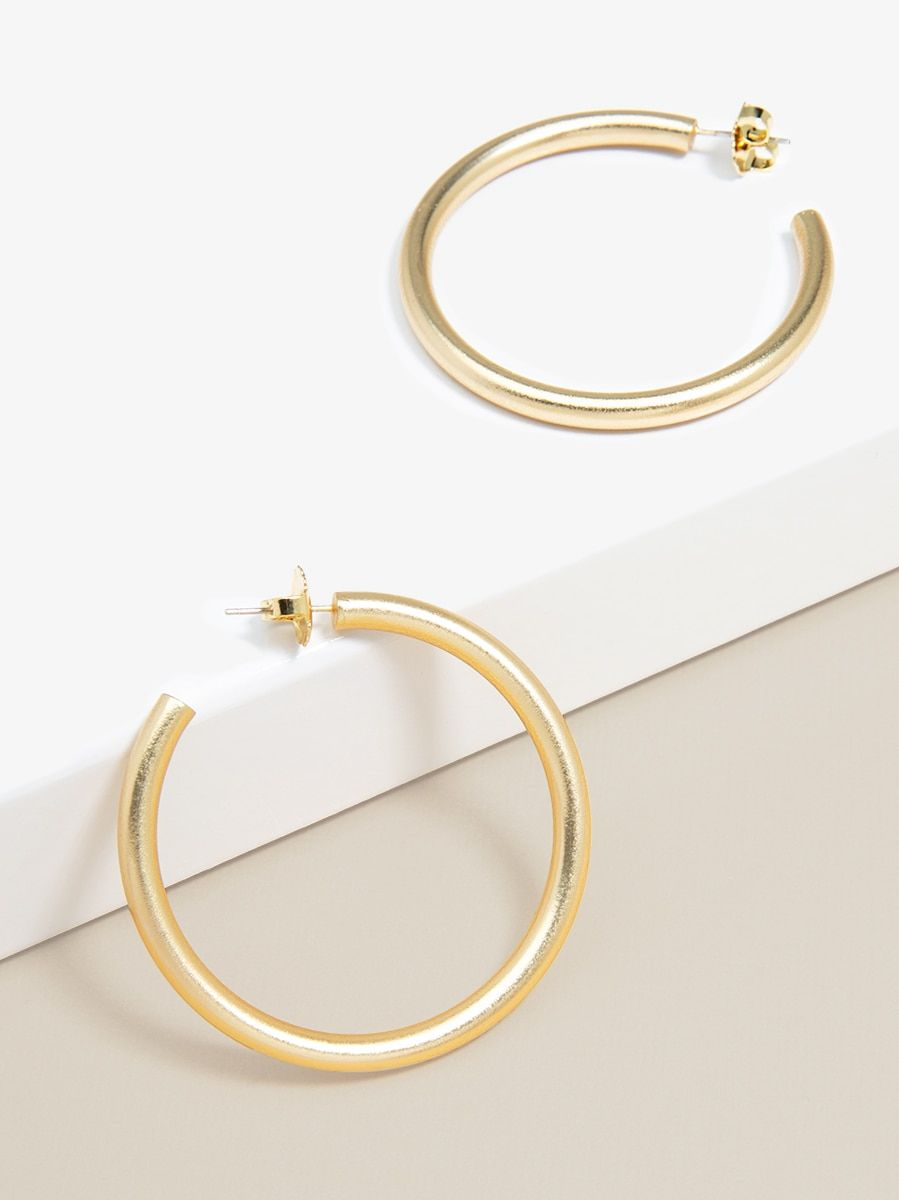 The Phoebe Hoop Earrings-Earring-Southern Bale