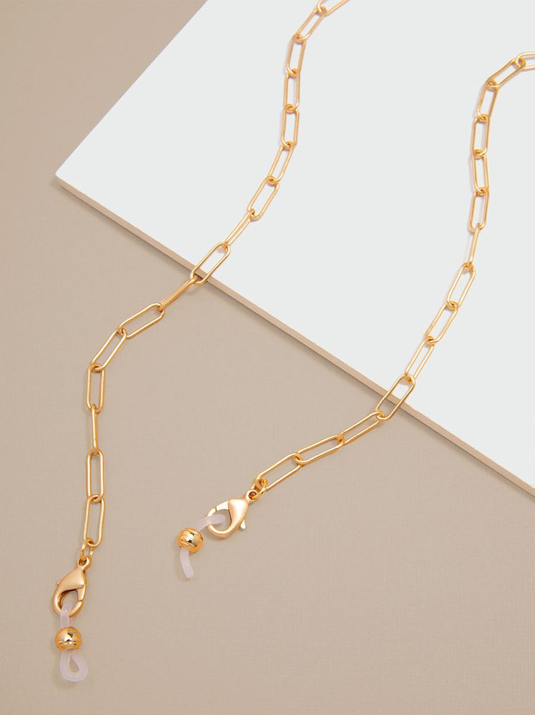 The Paperclip Lanyard  | 18K Gold