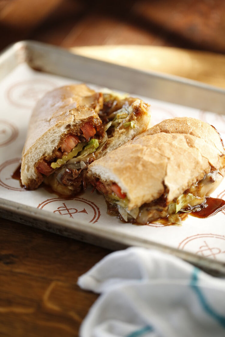 Poboy kit for 4 people - Roast Beef