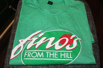 Fino's From The Hill Green - T Shirt