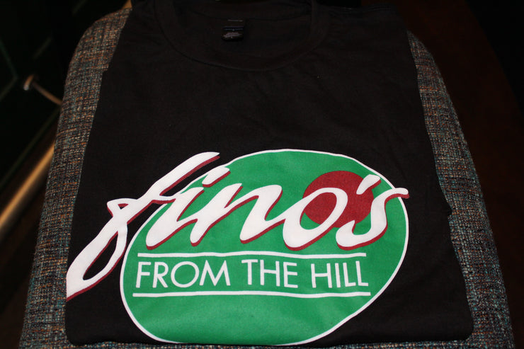 Fino's From The Hill Black - T Shirt