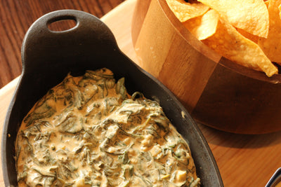 (Hot Food) Spinach and Crawfish Dip
