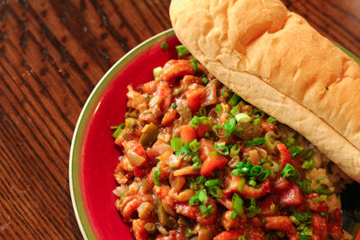 (Hot Food) Crawfish Etouffee