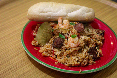 Jambalaya with Chicken and Andouille Family Meal