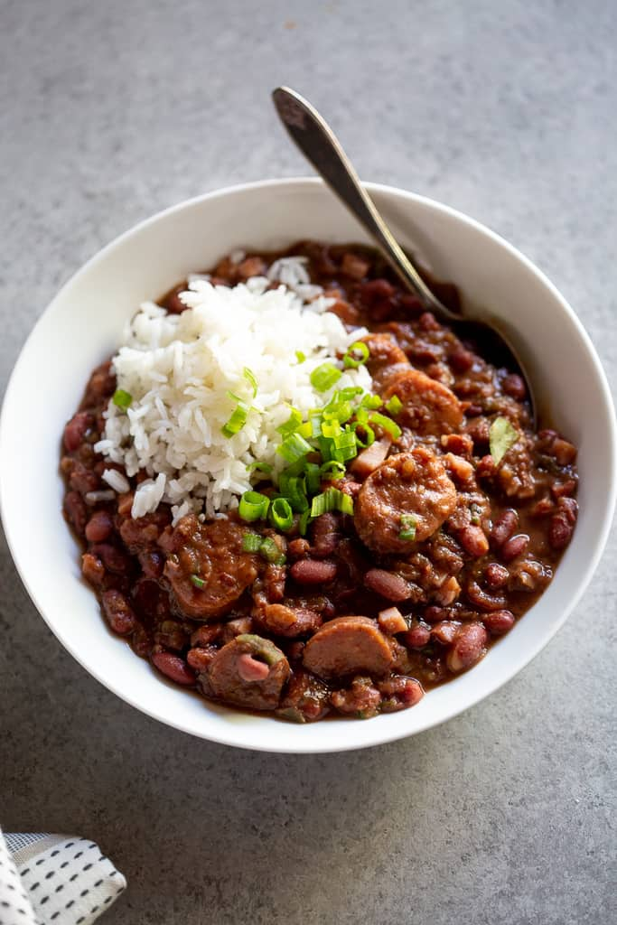 Red Beans and Rice Family Meal
