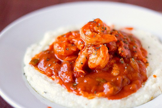 Shrimp and Grits Family Meal