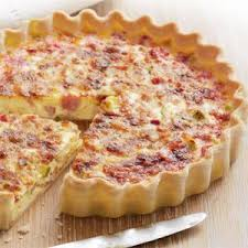 (Hot Food Add on) Croque Madame Quiche