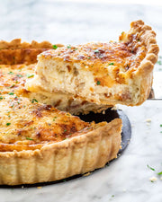 Mother's Day Brunch Package Quiche Lorraine (Serves 4-6)