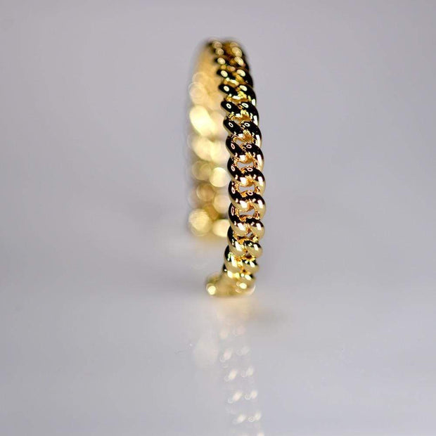 Saffy Jewels Bracelets Link Style Bracelet Cuff Yellow / Adjustable BGN0680