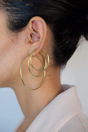 Saffy Jewels Earrings Jennifer Hoops