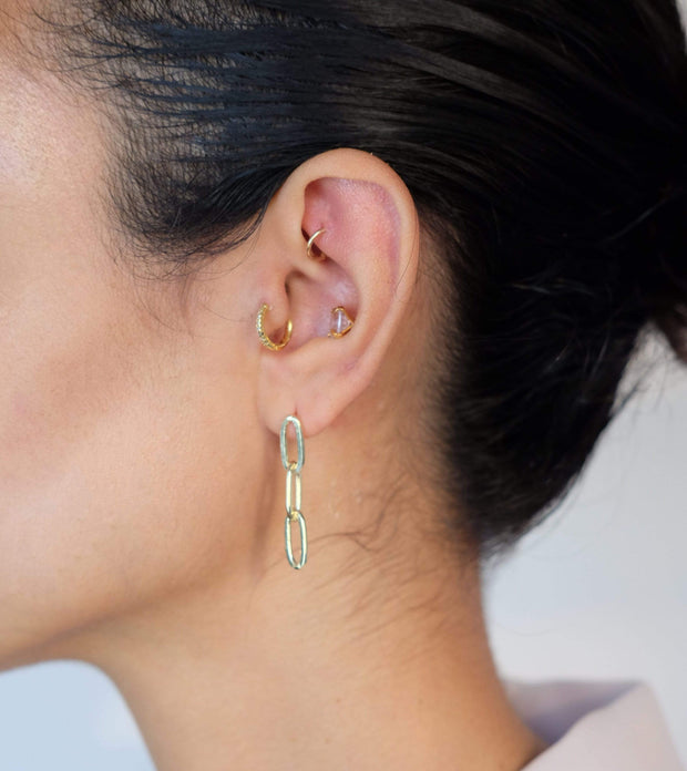 Saffy Jewels Earrings Link Hanging Earring Yellow EGN01804020_1