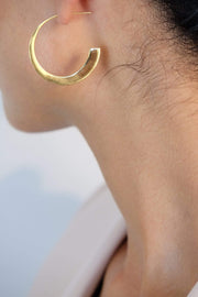 Saffy Jewels Earrings Olivia Hoops Yellow EGN0230040_1