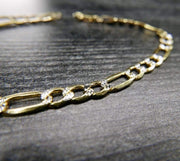 Saffy Jewels Necklaces 10K Gold Figaro Chain Necklace