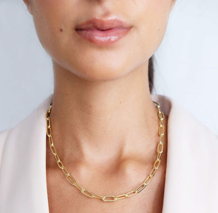 Saffy Jewels Necklaces Layla- Chunky style Link Chain