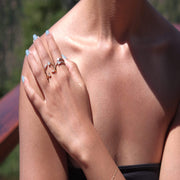 Saffy Jewels Rings Baguette Ring