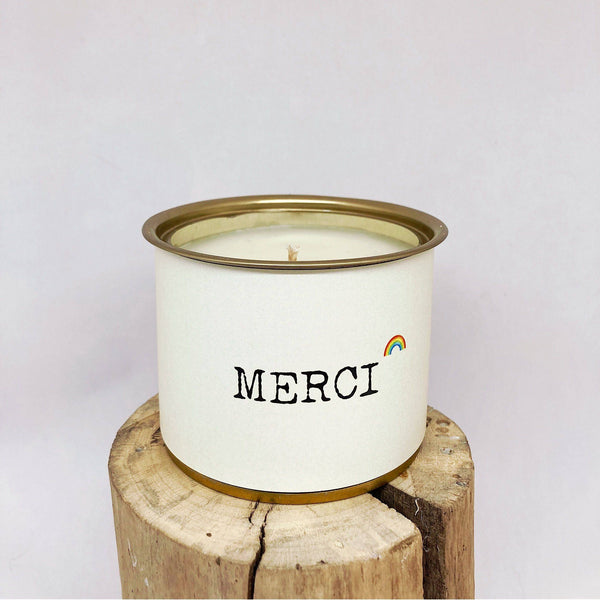 Bougie MESSAGE – MERCI