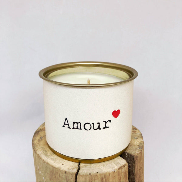 Bougie MESSAGE – AMOUR