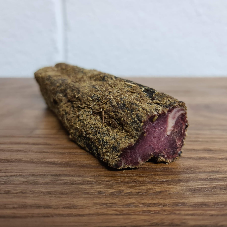 NEW Garlic & Rosemary Biltong Whole Strips