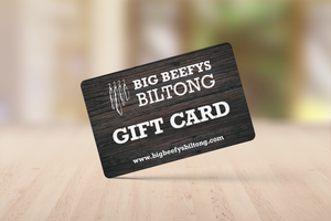 Big Beefys Biltong Gift Card