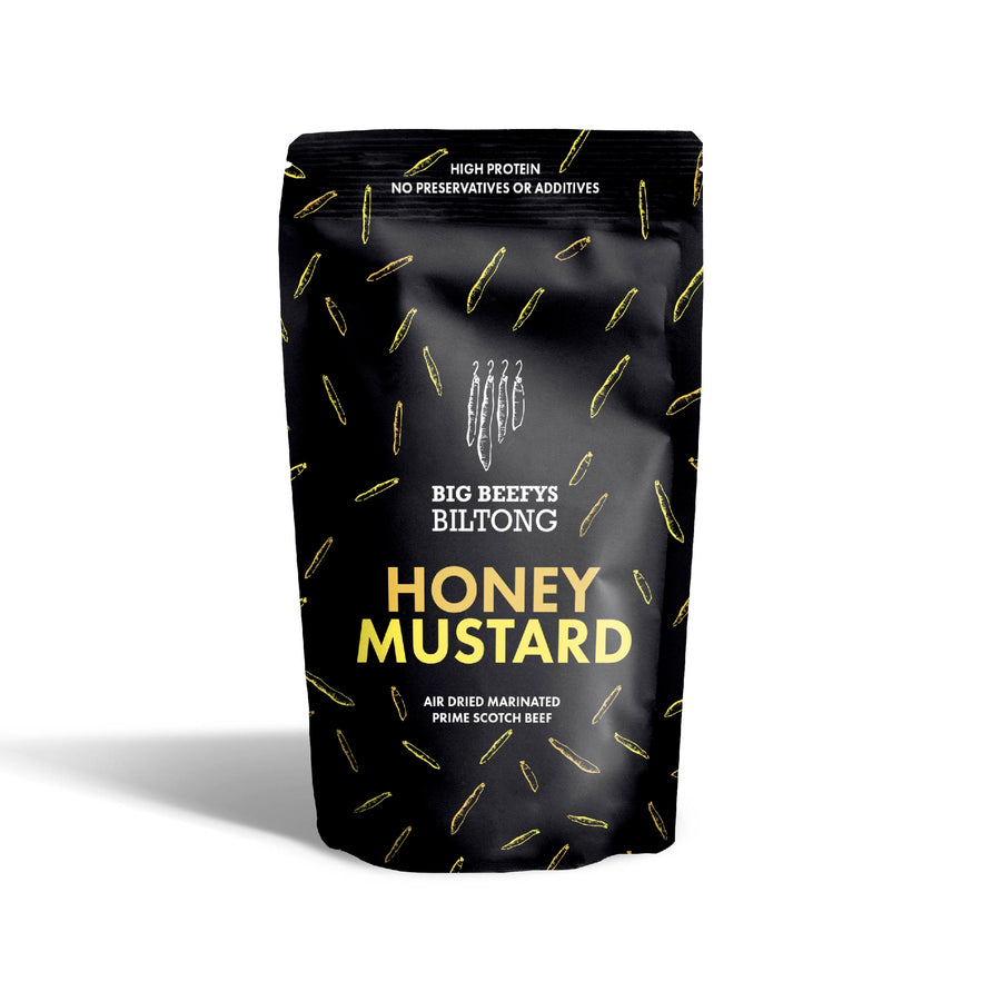 Honey Mustard Biltong Snack Bag - 35g