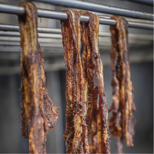 Sweet and Smokey Bacon Biltong