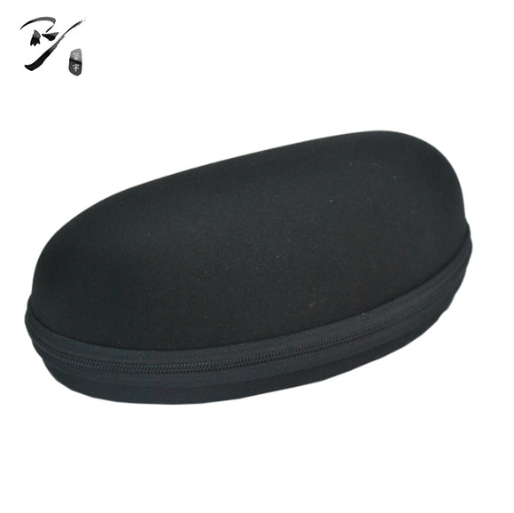 Big EVA glasses case with bottom zipper