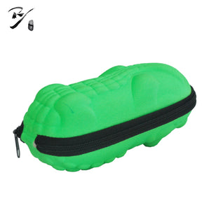 Crocodile shaped EVA glasses case with zipper