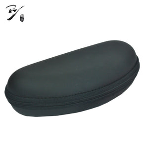 half round EVA glasses case with zipper