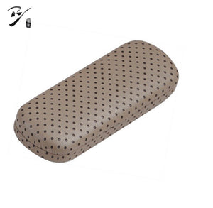 Oval classic hard shell glasses case