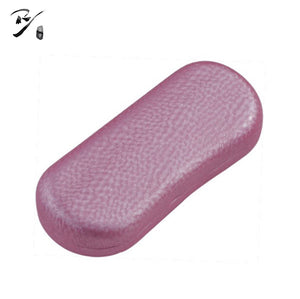 Oval concave hard shell glasses case