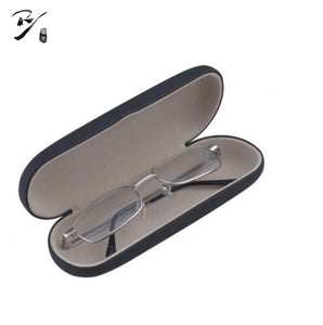 Slim oval hard shell glasses case