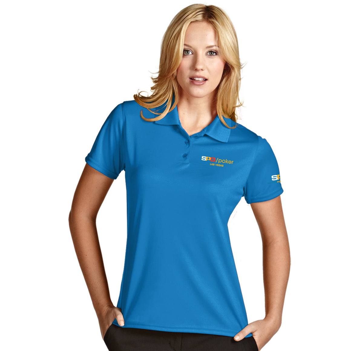 "Original ""SPG"" Logo Ladies Polo - Suited Poker Gear"