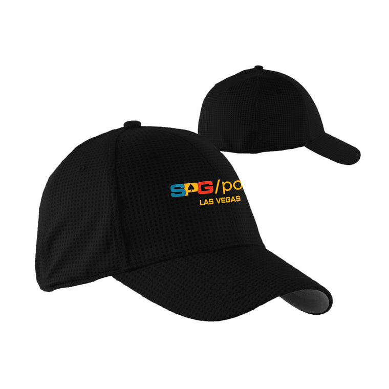 """Fitted Impressions"" Hat - Suited Poker Gear"