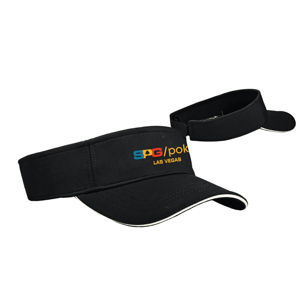 """SPG"" Visor - Suited Poker Gear"