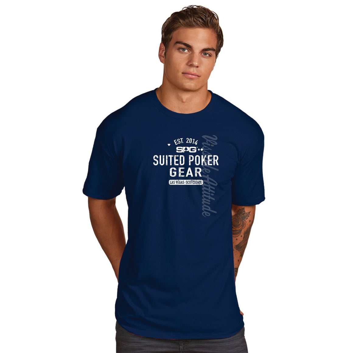 "SPG ""Established 2014"" T-Shirt - Suited Poker Gear"
