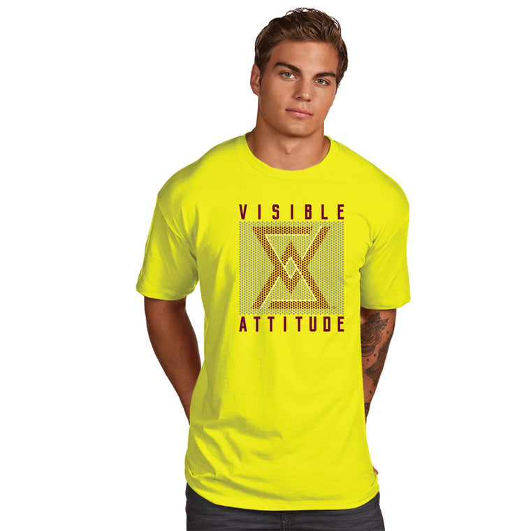 "Visible Attitude ""Repeat Pattern"" T-Shirt - Suited Poker Gear"