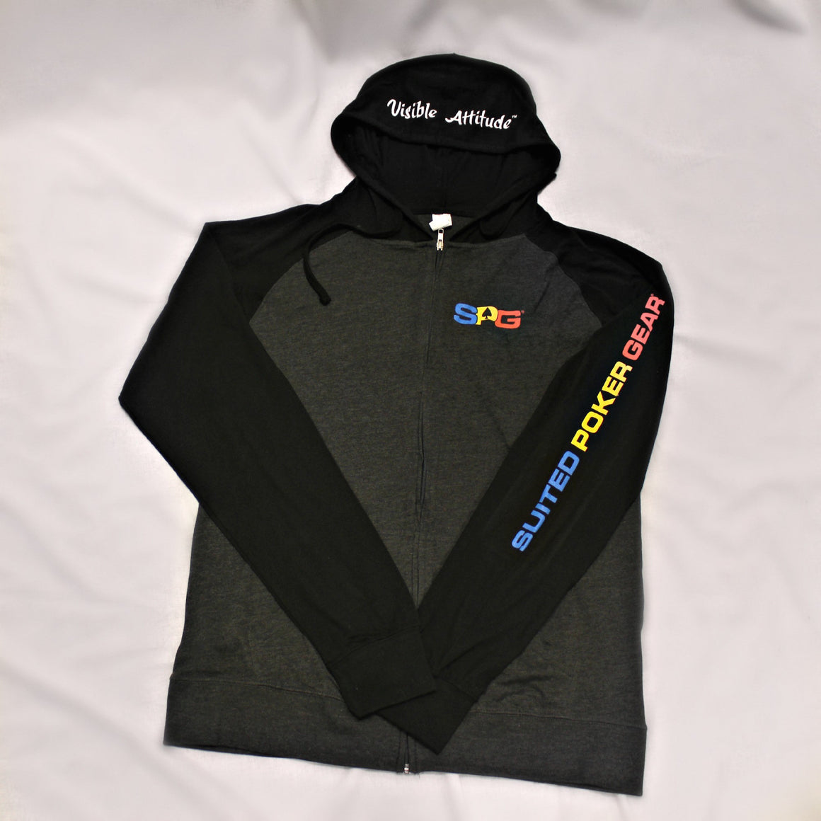 """Original Fleece Hoodie"" - Suited Poker Gear"