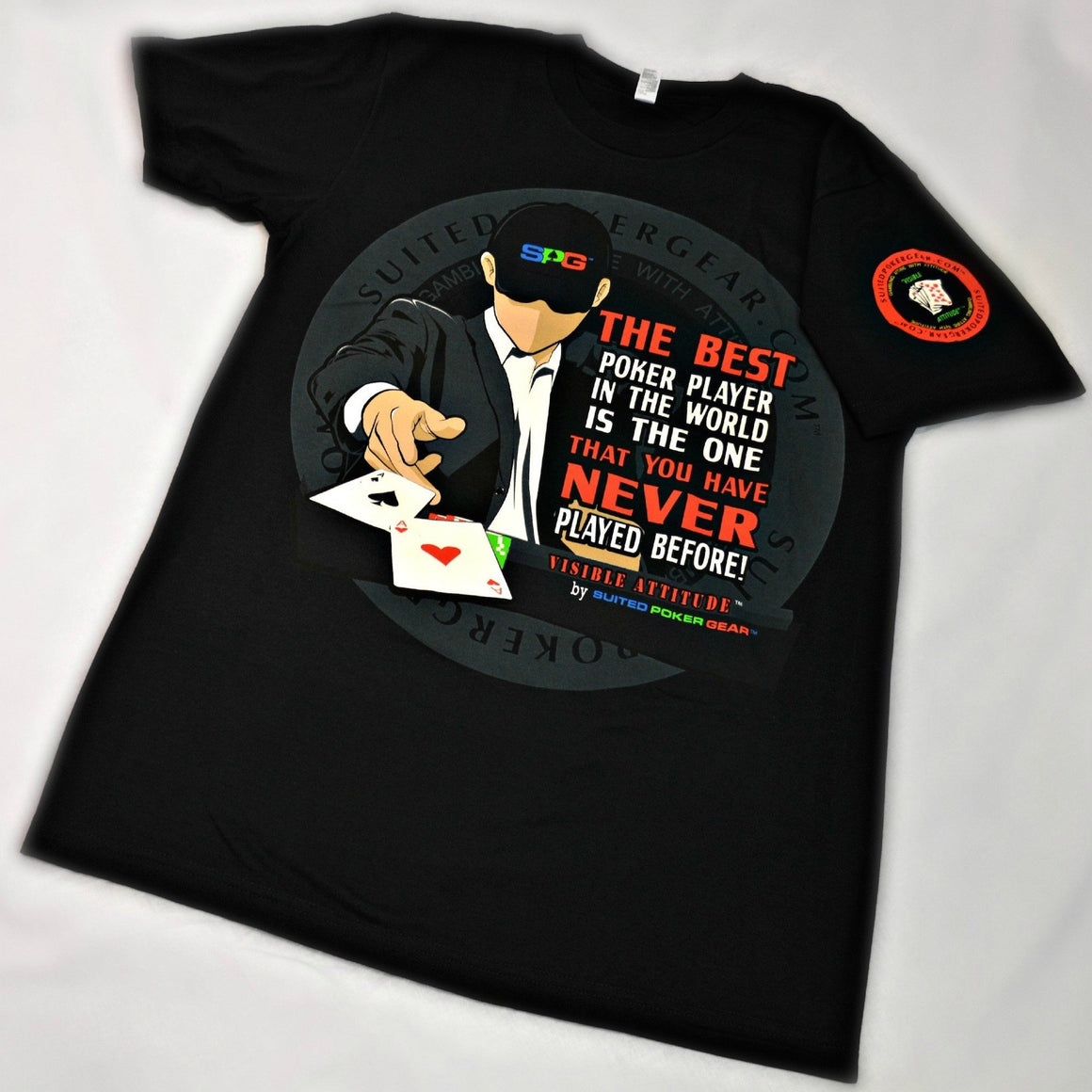"""Best Poker Player in the World"" - Suited Poker Gear"