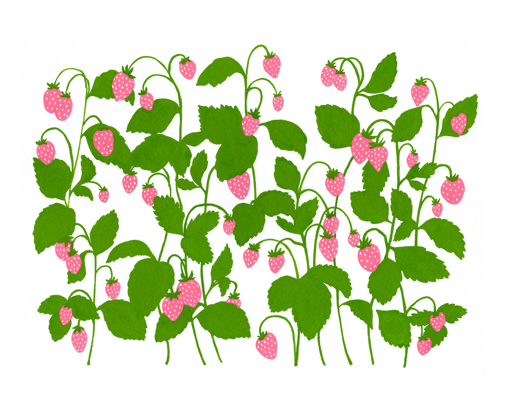 Wild Strawberries - Print