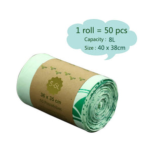 Compostable Trash Bag 50Pcs/Roll
