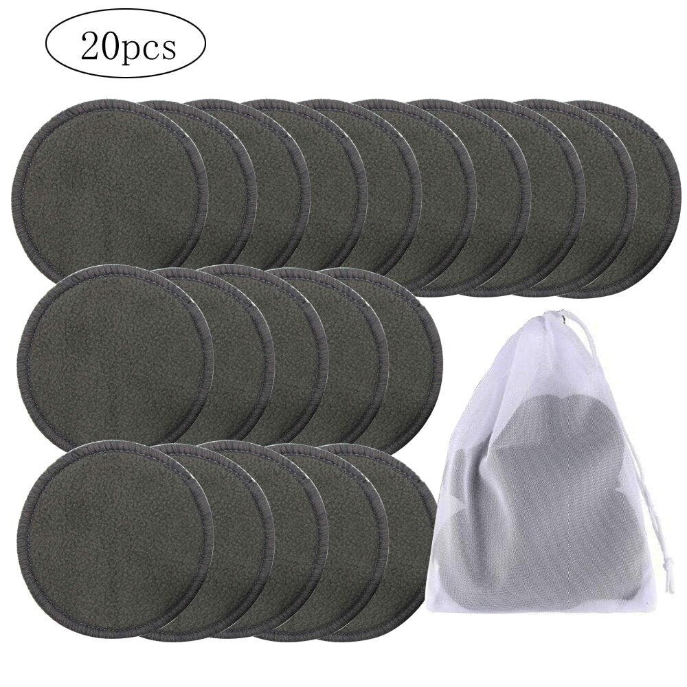 Reusable Bamboo Cotton Make Up Remover Pads