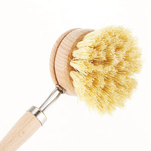 Replaceable Skillet Sisal Cleaning Brush