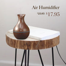 Load image into Gallery viewer, Air humidifier aroma diffuser USB