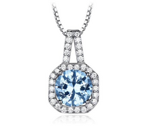 Load image into Gallery viewer, Elegant Necklaces & Pendant with Blue Topaz Pendant